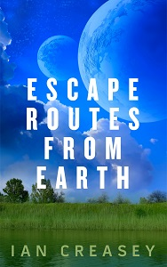 "Book cover for ""Escape Routes from Earth"""